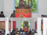 Kapolres Simeulue Hadiri Peringatan Maulid Nabi Muhammad SAW,  Di Masjid Nurul Ihsan.