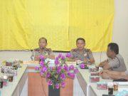 Pimpin Rapat Anev Rutin Mingguan, Kapolres Simeulue Harapkan Pelaksanaan Tugas Kedepan Lebih Baik Lagi.